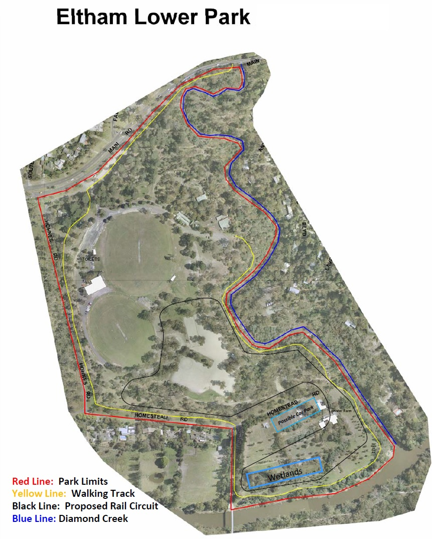 Eltham Lower Park Plan